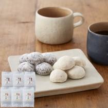 絹のさぶれ詰合 和三盆×3袋・ショコラ×3袋